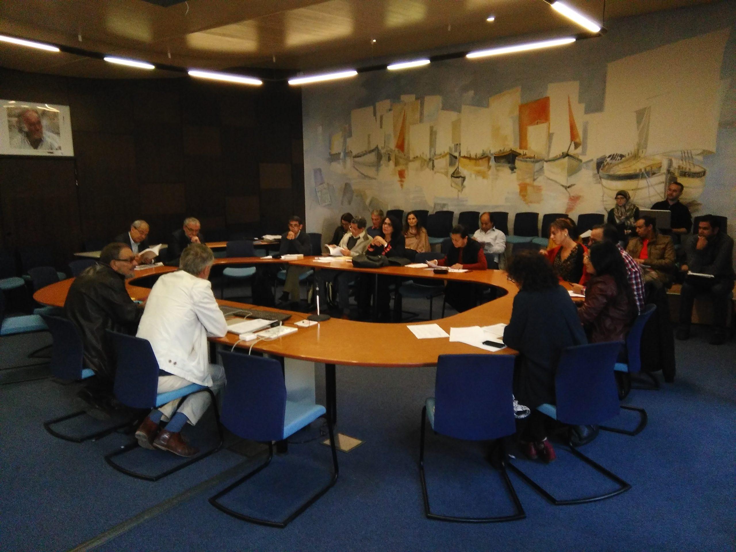 Réunion comité scientifique