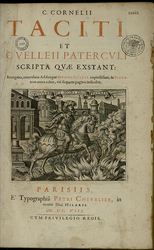 Page de garde de l'édition 1608, Paris, Pierre Chevalier