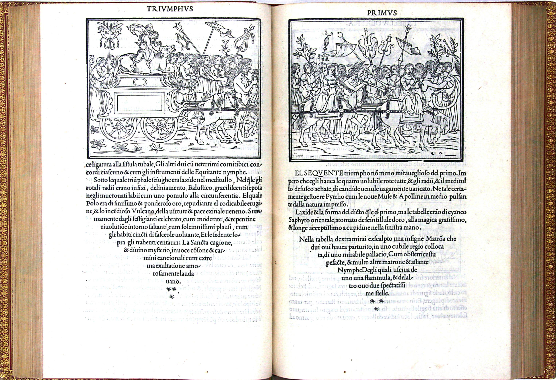 Francesco Colonna, Hypnerotomachia poliphili, Venise, 1499 (BM Tours, fonds Marce, rés 3548, photo : François Joly)