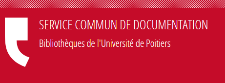 Logo SCD Université Poitiers
