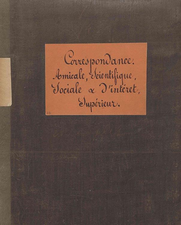 Correspondance de Jean-Baptiste André Godin, 29 août 1867-4 janvier 1874.