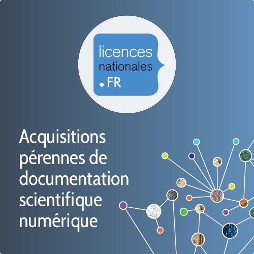 Illustration Licences nationales