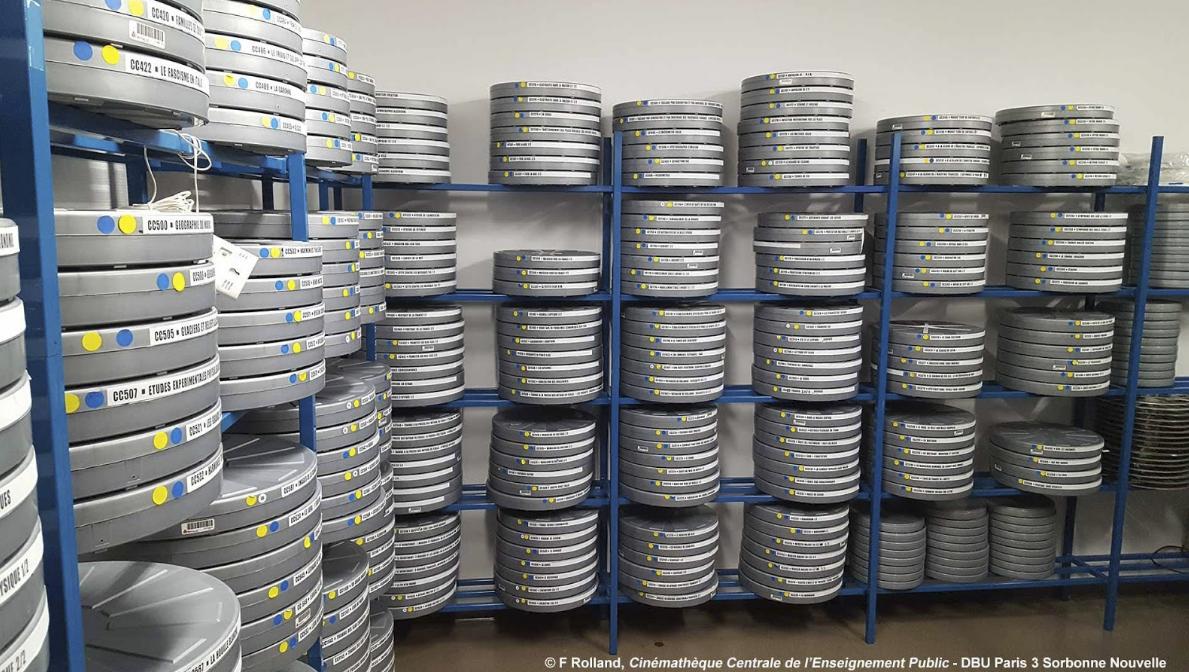Archives de la Cinémathèque Centrale de l'Enseignement Public