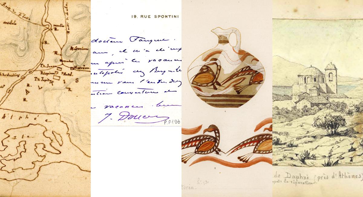 Illustration pour Bibliothèques de l'Université de Lorraine – Archéologie et épigraphie