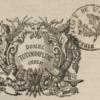 Vignette qui se trouve sur la page de titre de chaque volume de LGE où figure la devise « Donec totum impleat orbem »