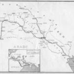 Itinéraire de voyage de M. H. Viollet. Crédits : Fonds Henry Viollet | Droits réservés CeRMI/BULAC